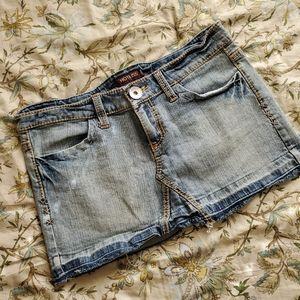 Hot Kiss Denim Skirt